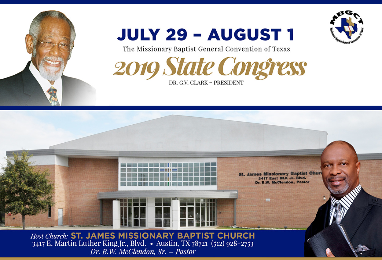 2019 State Congress – St  James Missionary Baptist Church