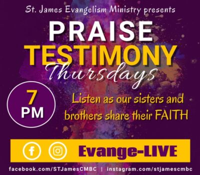 2021 Praise Testimony Thursdays - Post