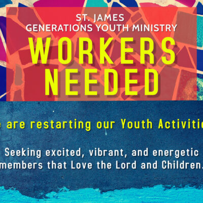 2021 Youth Workers Needed - Post